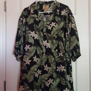 Jamaica Jaxx Silk Hawaiian Shirt